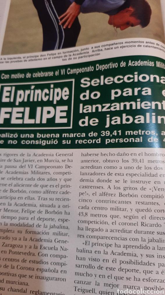 Coleccionismo de Revista Hola: HOLA 2256 1987 PRÍNCIPES GALES /DUQUE CÁDIZ / CAMILO SESTO /MICK JAGGER/LIZ TAYLER/FELIPE PRINCIPE/ - Foto 6 - 256019480