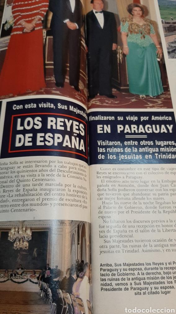 Coleccionismo de Revista Hola: Hola 2413 1990 CAROLINA MÓNACO _REYES ESPAÑA RAISA GIBACHOV RUSIABORDIU /XAVIER CUGAT MURIO/ D.ALBA - Foto 4 - 256021815