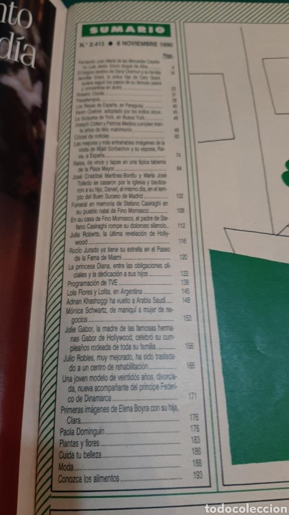 Coleccionismo de Revista Hola: Hola 2413 1990 CAROLINA MÓNACO _REYES ESPAÑA RAISA GIBACHOV RUSIABORDIU /XAVIER CUGAT MURIO/ D.ALBA - Foto 7 - 256021815