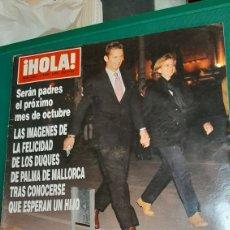 Coleccionismo de Revista Hola: HOLA 2851 1999 DUQUES PALMA/ BAILE ROSA. Lote 256022945