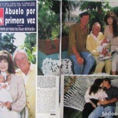Coleccionismo de Revista Hola: RECORTE REVISTA HOLA N.º 2407 1990 JACK LEMMON 5 PGS. Lote 257301220