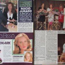 Coleccionismo de Revista Hola: RECORTE REVISTA HOLA N.º 2407 1990 ROCÍO JURADO. BURT LANCASTER. Lote 257307495