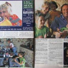 Coleccionismo de Revista Hola: RECORTE REVISTA HOLA N.º 2407 1990 MARIANNA SIMIONESCU. Lote 257309960