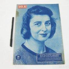 Coleccionismo de Revista Hola: REVISTA HOLA Nº 754 DE 7 DE FEBRERO DE 1959. PRINCESA ALEJANDRA. Lote 257487410