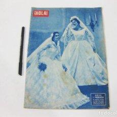 Coleccionismo de Revista Hola: REVISTA HOLA Nº554 DE 9 DE ABRIL DE 1955. MODISTA MAURER. Lote 257487615