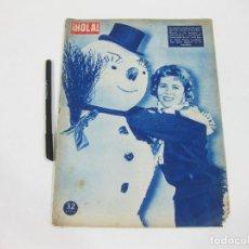 Coleccionismo de Revista Hola: REVISTA HOLA Nº 645 DE 5 DE ENERO DE 1957. CORNELL BARCHERS. Lote 257490695