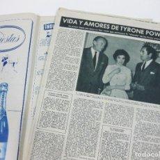 Coleccionismo de Revista Hola: REVISTA HOLA Nº 743 DE 22 DE NOVIEMBRE DE 1958. Lote 257491915