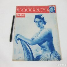 Coleccionismo de Revista Hola: REVISTA HOLA Nº 582 DE 22 DE OCTUBRE DE 1955. PRINCESA MARGARITA. Lote 257492380