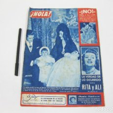 Coleccionismo de Revista Hola: REVISTA HOLA Nº 431 DE 29 DE NOVIEMBRE DE 1952. Lote 257492575
