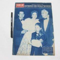 Coleccionismo de Revista Hola: REVISTA HOLA Nº 662 DE 4 DE MAYO DE 1957.. Lote 257494335