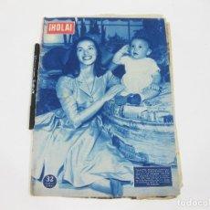 Coleccionismo de Revista Hola: REVISTA HOLA Nº 664 DE 18 DE MAYO DE 1957. PIER ANGELI. Lote 257494750