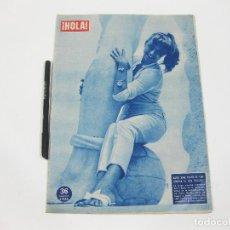 Coleccionismo de Revista Hola: REVISTA HOLA Nº 742 DE 15 DE NOVIEMBRE DE 1958. KARIN BAAL. Lote 257494925
