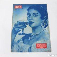 Coleccionismo de Revista Hola: REVISTA HOLA Nº 540 DE 1 ENERO DE 1955. LOLA FLORES. Lote 257892340