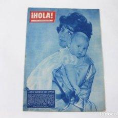 Coleccionismo de Revista Hola: REVISTA HOLA Nº 758 DE 7 DE MARZO DE 1959. BARONESA THYSSEN. Lote 257894820