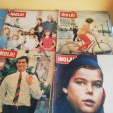 """Coleccionismo de Revista Hola: 13.! HOLA! AÑOS 60""""S Y UNO DE LOS AÑOS 70""""S. Lote 260852435"""