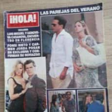 Coleccionismo de Revista Hola: HOLA 3390.ESPECIAL PAREJAS DEL VERANO.FUNERAL DE MICHAEL JACKSON.A.JOLIE.FONSI NIETO ETC..ETC.... Lote 262432395