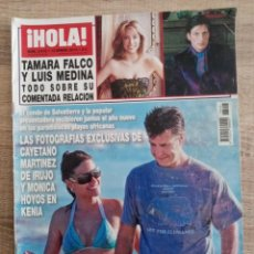 Coleccionismo de Revista Hola: HOLA 3415.CAYETANO MARTINEZ DE IRUJO.TAMARA FALCO.TITA CERVERA ETC.... Lote 262438065