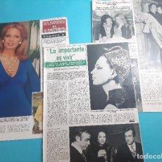 Coleccionismo de Revista Hola: IRA DE FURSTENBERG - MEMORIAS CAPITULO 5 - RECORTE 5 PAG - AÑO 1985. Lote 262963090