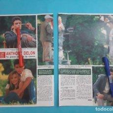 Coleccionismo de Revista Hola: ANTHONY DELON PRIMERA VEZ ANTE LAS CAMARAS- ENTREVISTA - RECORTE 4 PAG - AÑO 1985. Lote 262964440