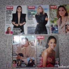 Coleccionismo de Revista Hola: ¡HOLA! - LOTE DE 5 REVISTAS.. Lote 263224885