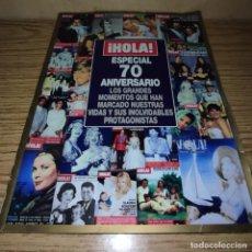 Coleccionismo de Revista Hola: HOLA ESPECIAL 70 ANIVERSARIO. Lote 263250875