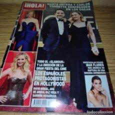 Coleccionismo de Revista Hola: HOLA: MARTA ORTEGA, MAR FLORES, JENNIFER LAWRENCE, ANA DE ARMAS, PAZ VEGA, NICOLE KIDMAN. Lote 263280815