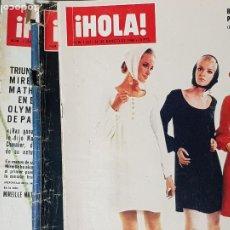 Coleccionismo de Revista Hola: AÑOS 60 REVISTAS 4. Lote 263285920