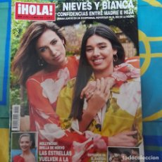 Coleccionismo de Revista Hola: REVISTA HOLA NUMERO 4005 NIEVES Y BIANCA. Lote 263734580