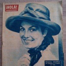 Coleccionismo de Revista Hola: HOLA 939.AÑO 1962 MISS BELLEZA .CALLAS Y ONASSIS.MARILYN MONROE.REINA ISABEL II.MARLON BRANDO.ETC.... Lote 265693829