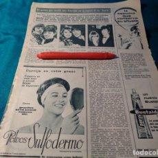Coleccionismo de Revista Hola: RECORTE : LOS BEATLES Y SUS ESPOSAS. HOLA, MAYO 1966(#). Lote 266290693