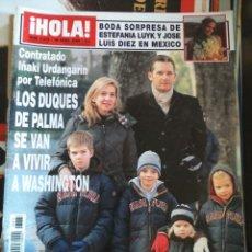 Collectionnisme de Magazine Hola: REVISTA HOLA - Nº 3378 -- 20 DE ABRIL 2009 -- LOS DUQUES DE PALMA --. Lote 267820989