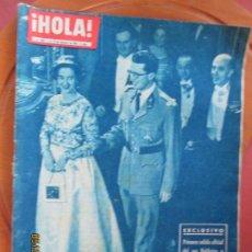 Coleccionismo de Revista Hola: HOLA REVISTA Nº 858- 02-1961 FABIOLA Y BALDUINO,RITA HAYWORTH, GENNEVIEVE PAGE, FESTIVAL SAN REMO. Lote 268432389