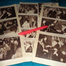 Coleccionismo de Revista Hola: RECORTE : GRAN GALA CINEMATOGRAFICA EN MADRID : RITA HAYWORTH, MARISOL..... HOLA, DCMBRE 1963(#). Lote 268582794