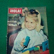 Coleccionismo de Revista Hola: REVISTA HOLA Nº 1275. LA INFANTITA CRISTINA, GRETA GARBO, PAT NIXON, MADAME CAO KY. FEBRERO 1969. Lote 268762684