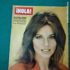 Coleccionismo de Revista Hola: REVISTA HOLA Nº 1222. JACKIE BISSET, MIA Y FRANK SINATRA, LA TRAGEDIA DE SICILIA. ENERO 1968. Lote 268766609