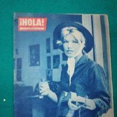 Coleccionismo de Revista Hola: REVISTA HOLA Nº 837. CRISTINA GAIONI, JOVEN ACTRIZ ITALIANA. LIZ TAYLOR...... SEPTIEMBRE 1960. Lote 268769024