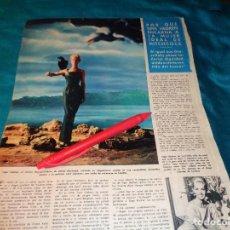 Coleccionismo de Revista Hola: RECORTE : TIPPI HEDREN, LA MUJER IDEAL DE HITCHCOCK. HOLA, SPTMBRE 1963(#). Lote 268871849