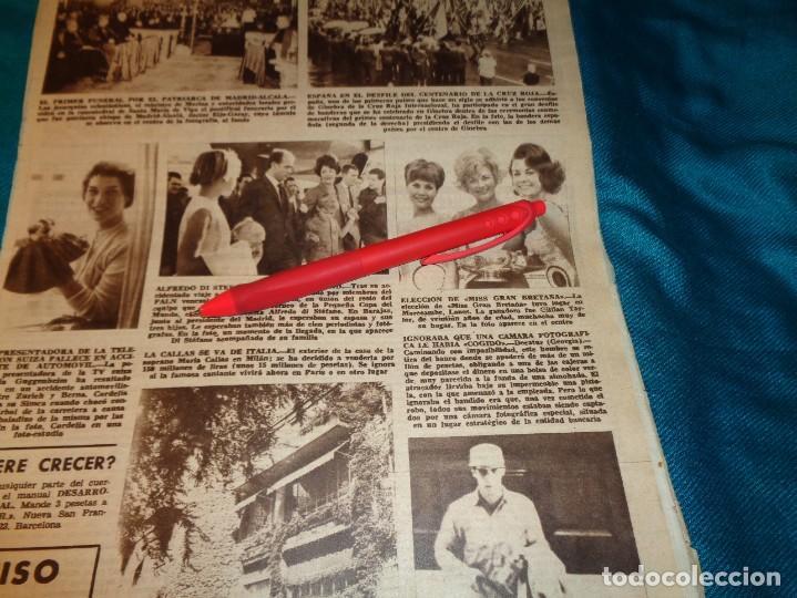 RECORTE : ELECCION DE MISS GRAN BRETAÑA. HOLA, SPTMBRE 1963(#) (Coleccionismo - Revistas y Periódicos Modernos (a partir de 1.940) - Revista Hola)