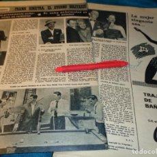 Coleccionismo de Revista Hola: RECORTE : FRANK SINATRA, EL ETERNO SOLITARIO. HOLA, ABRIL 1963(#). Lote 268963119
