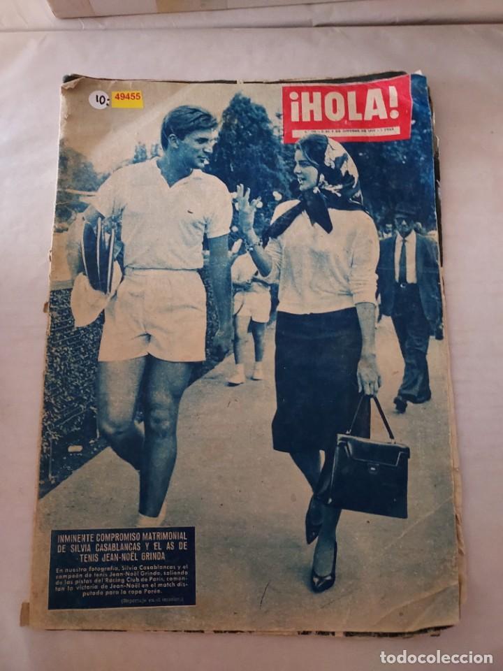 49455 - REVISTA HOLA - Nº 788 - EN PORTADA SILVIA CASABLANCAS Y JEAN NOËL GRINDA (Coleccionismo - Revistas y Periódicos Modernos (a partir de 1.940) - Revista Hola)