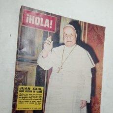 Coleccionismo de Revista Hola: REVISTA HOLA 979 JUNIO 1963 JUAN PABLO 13 MISS ESPAÑA 1963. Lote 269250653