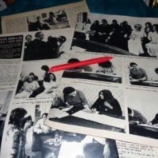 Coleccionismo de Revista Hola: RECORTE : BODA DEL HIJO DE LIZ TAYLOR. HOLA, OCTBRE 1970(#). Lote 269347108