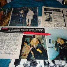 Coleccionismo de Revista Hola: RECORTE : URSULA ANDRESS, PASA DOS DIAS DE INCOGNITO EN BARCELONA. HOLA, OCTBRE 1970(#). Lote 269347298