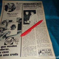 Coleccionismo de Revista Hola: RECORTE : SANDIE SHAW, ESPERA UN HIJO. HOLA, OCTBRE 1970(#). Lote 269348868
