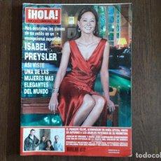 Coleccionismo de Revista Hola: REVISTA HOLA, NÚMERO 3100, 01 ENERO 2004, ISABEL PREYSLER, ASÍ VISTE UNA DE LAS MUJERES MÁS ELEGANT. Lote 269384718