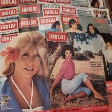 Coleccionismo de Revista Hola: LOTE REVISTA HOLA 20 REVISTAS. Lote 269451613