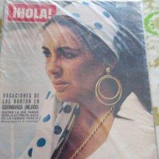 Coleccionismo de Revista Hola: HOLA ELIZABETH TAYLOR 19721. Lote 269458668