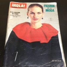 Coleccionismo de Revista Hola: REVISTA HOLA! NÚMERO ESPECIAL, ALTA COSTURA DE PARIS, FIGURÍN DE LA MODA- OTOÑO-INVIERNO DE 1977-78.. Lote 269724558