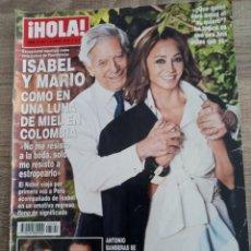 Coleccionismo de Revista Hola: HOLA REVISTA 3.792 .ISABEL PREYSLEY. ANTONIO BANDERAS.RONNIE WOOD DE LOS ROLLING STONES.MAR FLORES .. Lote 269783018