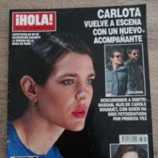 Coleccionismo de Revista Hola: HOLA REVISTA 3.790 CARLOTA.ANGELINA JOLIE JENNIFER LOPEZ.CAROLINA.C.RONALDO.I.PREYSLER M.DIAZ.ETC.... Lote 269794818